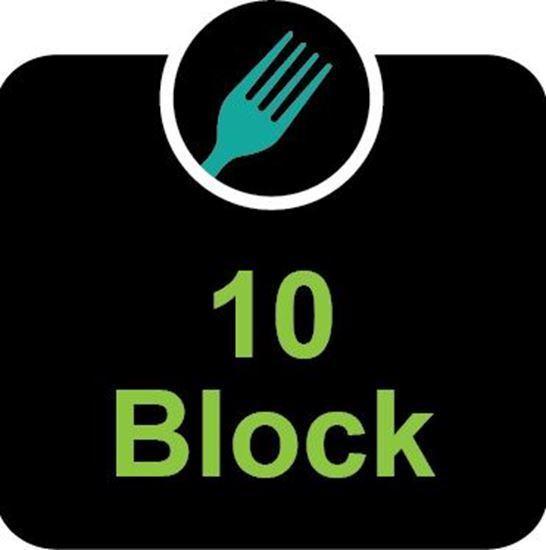 10 block