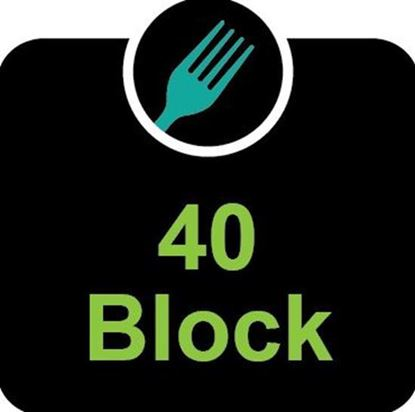 40 block